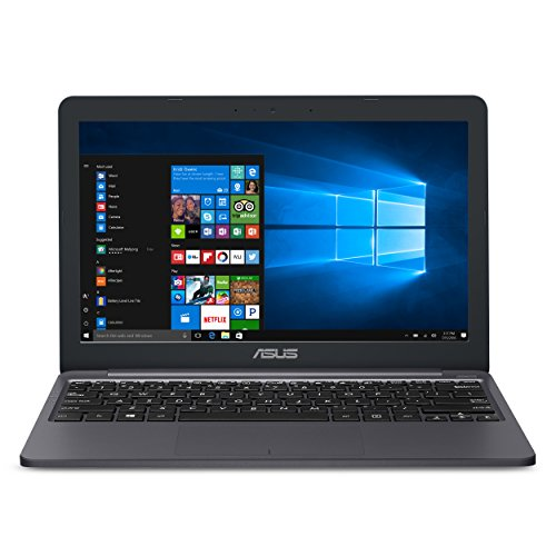 ASUS VivoBook L203MA Ultra-Thin Laptop, 11.6' HD, Intel Celeron N4000 Processor (up to 2.6 GHz), 4GB RAM, 64GB eMMC, USB-C, Windows 10 in S Mode, One Year of Microsoft Office 365, L203MA-DS04