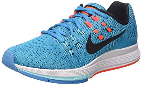 Nike Womens Air Zoom Structure 19 Running Trainers 806584 Sneakers Shoes (US 6, Blue legoon Black copa 400)