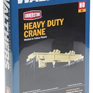 Walthers Cornerstone HO Scale Heavy Duty Overhead Crane Structure Kit 51sxBseLBaL