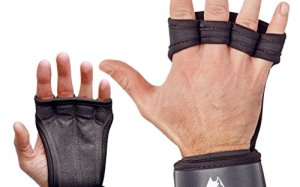 Cross Training Gloves by ALPHATRAIT - Best Protection for Your Hands - Extremely Durable Training Gloves with Adjustable Wrist Support for WODs, Gym Workouts, Weightlifting - for Men & Women