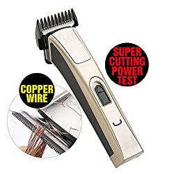 KIKI NEW GAIN Professional Cordless Rechargeable Hair Clippers Super Cutting Power Crew Cut Hair Trimmer Electric Head shaver T-shape Blade kids clipper  Image