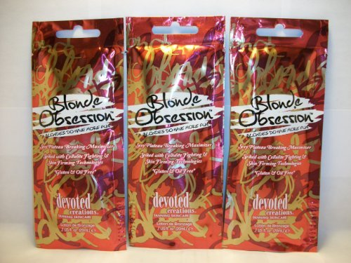 3 packets Blonde Obsession Plateau-Breaking Maximizer .7z