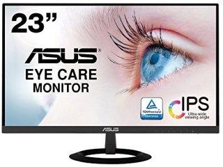 ASUS フレームレス モニター 23インチ IPS 薄さ7mmのウルトラスリム ブルーライト軽減 フリッカーフリー HDMI,D-sub スピーカー VZ239HR