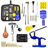Ziss Watch Repair Tools Watch Band Link Pin Tool Set with Carrying Case, Watch Case Opener and Closer, Professional Tool Set