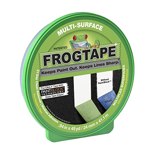 Frog Tape 1396748 Multi-Surface Painting Tape.94 Inches Wide x 45 Yards Long, Green