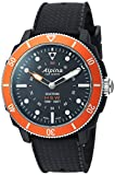 Alpina Men's 'Horological Smart Watch' Quartz Stainless Steel and Rubber, Color:Black (Model: AL-282LBO4V6)
