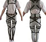 CycleMore Cosplay Attack on Titan Shingeki no Kyojin Mikasa Ackerman Harness Belt