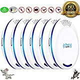 U-miss Ultrasonic Pest Repeller Plug in Pest Control - Mice Repellent & Rat Repellent in Pest Repellent - Bug Repellent for Ant,Mosquito,Mice,Flea,Fly,Spider,Roach,Rat -(6 Pack)
