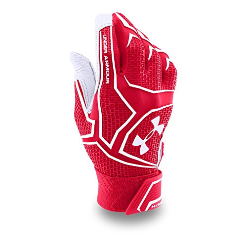 Under Armour (1265933) Mens Yard ClutchFit Baseball Batting Gloves — All-Star Game Edition, Red/Red, Small