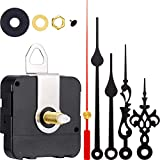 2 Pair Hands Quartz Clock Movement DIY Wall Clock Movement Mechanism Clock Repair Parts Replacement (Shaft Length 1-1/5 Inch/ 31 mm, Color Set 1)