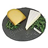 Round Slate Cheese Board By EMEMO...