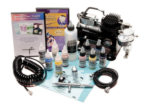 Jerry's Exclusive Iwata Deluxe Airbrush Set