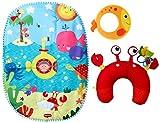 Tiny Love Tummy Time Under The Sea Playmat