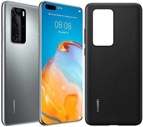 Huawei P40 Pro 5G ELS-NX9 256GB 8GB RAM International Version – Silver Frost
