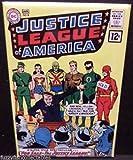Justice League America #8 Comic Book Cover 2 x 3 Fridge Locker MAGNET