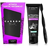 Activated Charcoal Teeth Whitening Natural Toothpaste Kit w/...
