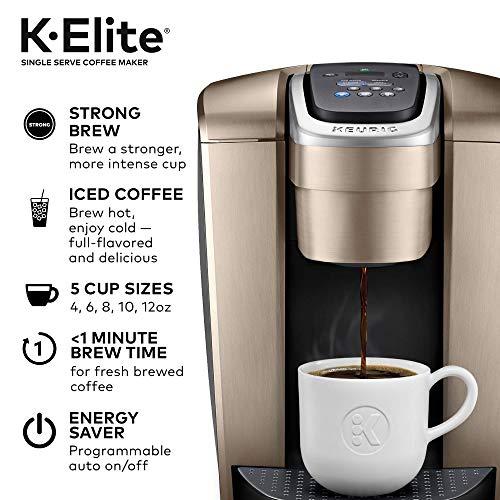 Keurig-K-Elite-Coffee-Maker-Single-Serve-K-Cup