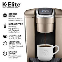 Keurig-K-Elite-Coffee-Maker-Single-Serve-K-Cup