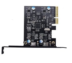 PCI-E-PCI-Express-4X-to-USB-31-Gen-2-10-Gbps-2-Port-Type-C-Expansion-Card-Asmedia-Chipset-for-Windows-7-88110Linux-Kernel-2XType-C