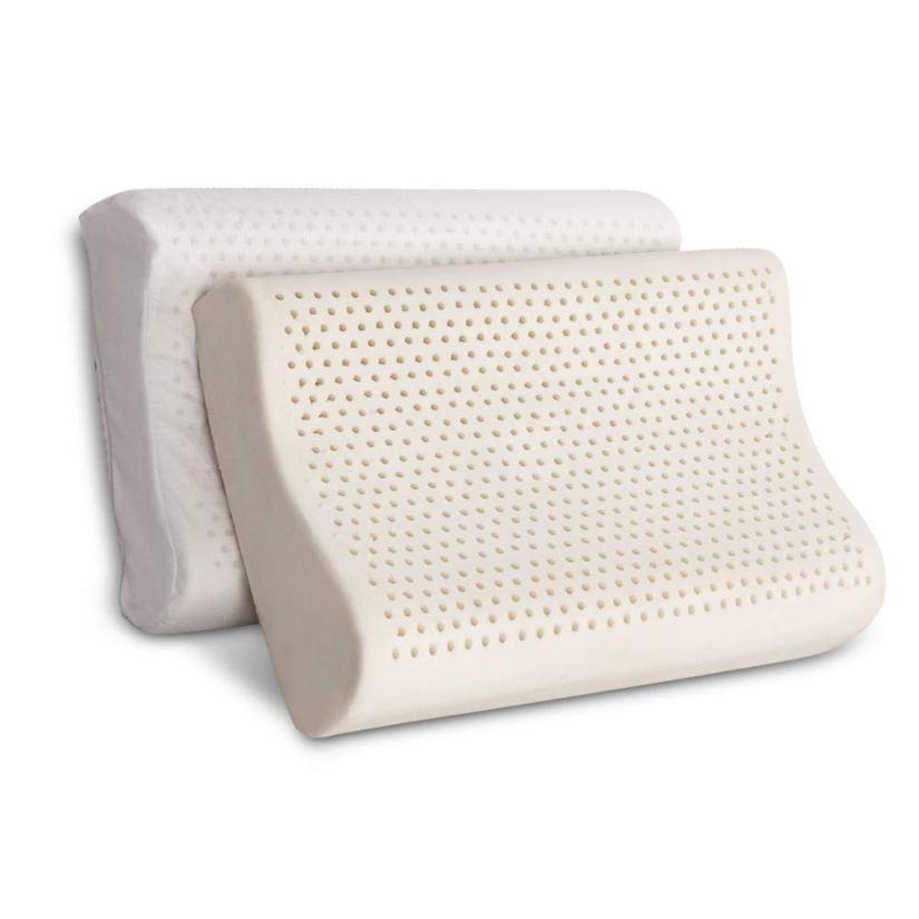 Organic Textiles Contour Neck Pillow (Best for Neck Pain)