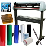 Vinyl Cutter Plotter SignShop Starter Bundle - 34 Inch SC2 Machine + Oracal 651 Transfer Tape