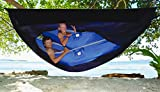 Hammock Bliss Sky Tent 2 - A Revolutionary 2 Person Hammock Tent – Waterproof and Bug Proof Hanging Tent Provides Spacious and Cozy Shelter For 2 Camping Hammocks – Embrace Hammock Camping Comfort