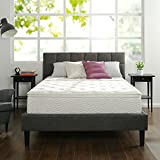 Zinus 12 Inch Euro Box Top Hybrid Green Tea Foam and Spring Mattress, King