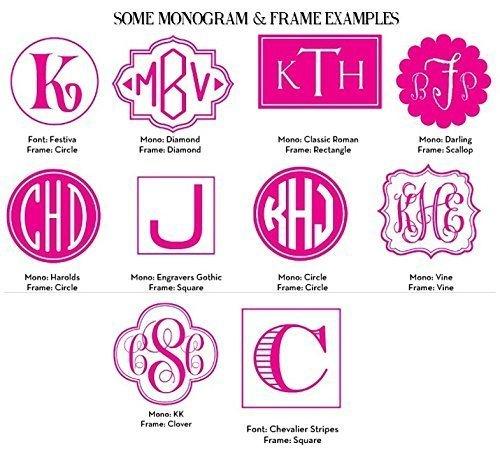 Monogram Make Up Bag, Personalized Cosmetic Bag Monogrammed