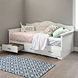 "Product review for South Shore 39"" Tiara Daybed with Storage, Twin, Pure White"