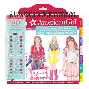 American Girl BeForever Fashion Sketch Portfolio