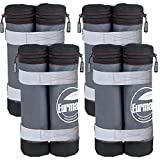 Eurmax New Weight Bags for Ez Pop up Canopy Instant Canopies Shelter, Sand Bags, Set of 4