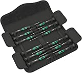 Wera - Kraftform Micro Screwdriver Set 12: 5 Slot 2 Ph 3 Hex 2 TX