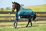 """Product review for Weatherbeeta Freestyle 1200D Standard Neck Heavy Weight Turnout (81"""", Black/Teal Plaid)"""