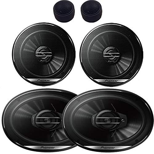 Pioneer TS-G6930F TS-G1620F 6x9 3-Way and 6.5' 2-Way Speakers W/Free Tweeters
