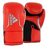 adidas Womens Speed 100 Bag Gloves, Solar Red/Black, 8 oz