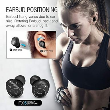 Purity-True-Wireless-Earbuds-with-Immersive-Sound-Bluetooth-50-Earphones-in-Ear-with-Charging-Case-Easy-Pairing-Stereo-CallsBuilt-in-MicrophonesIPX5-SweatproofPumping-Bass-for-SportsWorkoutGym