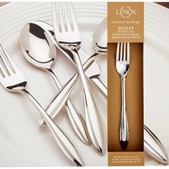 Lenox Sculpt 65-pc Steel Flatware Set
