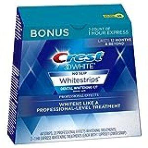 Crest 3D White Dental Whitening Kit, Professional Effects Whitestrips, 44 Count (Pack of 1)