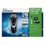Philips Norelco Wet & Dry Shaver 4300 with Nose, Ear and Eybrow Trimmer