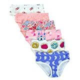 Closecret Kids Series Baby Soft Cotton Panties Little Girls' Assorted Briefs(Pack of 6) (2-3 Years, Style4)