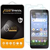 (2 Pack) Supershieldz for Alcatel TCL A1 (A501DL) Tempered Glass Screen Protector, Anti Scratch, Bubble Free