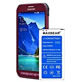 Galaxy S5 Active Battery,MAXBEAR [3300mAh] Replacement Li-Ion Battery for Samsung Galaxy S5 Active SM-G870 (AT&T) & Galaxy S5 Sport SM-G860 (Sprint)| S5 Spare Battery [12 Month Warranty]