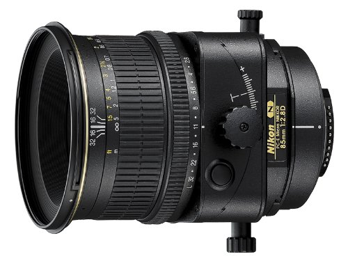 Nikon PC-E FX Micro NIKKOR 85mm f/2.8D Fixed Zoom Lens for Nikon DSLR Cameras