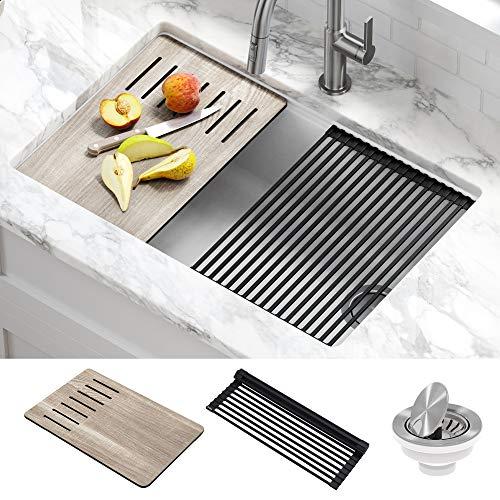 Kraus-KGUW1-30WH-Bellucci-Workstation-30-inch-Undermount-Granite-Composite-Single-Bowl-Kitchen-Sink-White