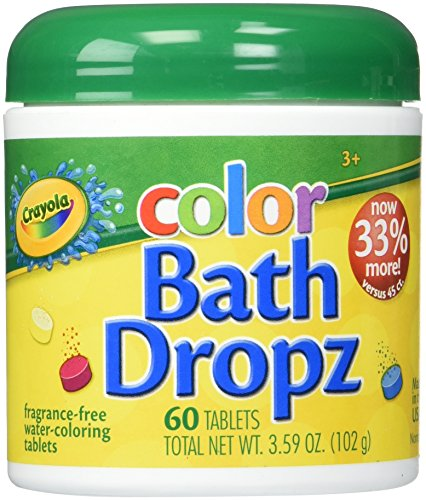60ct Crayola Color Bath Drops - LOW PRICE!