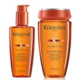 Nutritive Oleo-Relax Serum, 4.2 Ounces & Nutritive Bain Oleo-Relax Shampoo, 8.45 Ounce