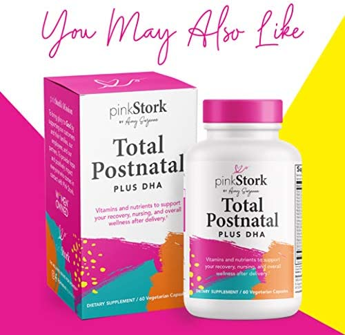 Pink Stork Total Lactation Probiotic: Nursing Probiotic for Women, 10 Billion CFU for Immune Health, Digestion, Gut Health, Breastfeeding, Colic Relief for Newborns, Women-Owned, 30 Capsules 7