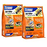 Terro T901SR, Listed Insects 3 lb Ant Killer Plus - Also Kills Cockroaches, Fleas-2 Pack, Brown