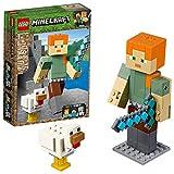 LEGO Minecraft Alex BigFig with Chicken 21149 Building Kit (160 Pieces)