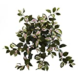 "Nearly Natural 6117-S4 21"" Hoya Hanging Bush (Set of 4), 4 Piece"